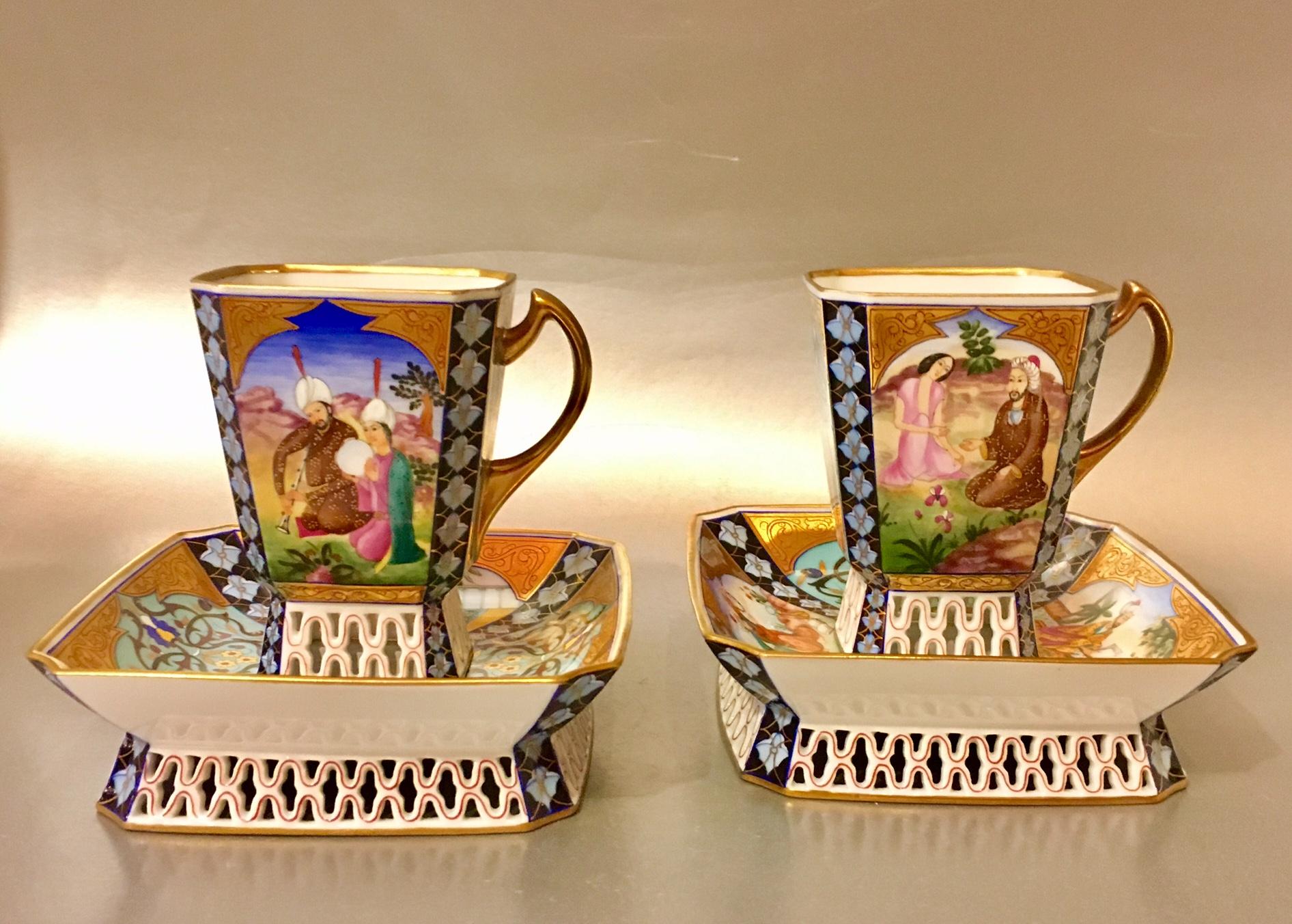 Herendi Perzsa csészék