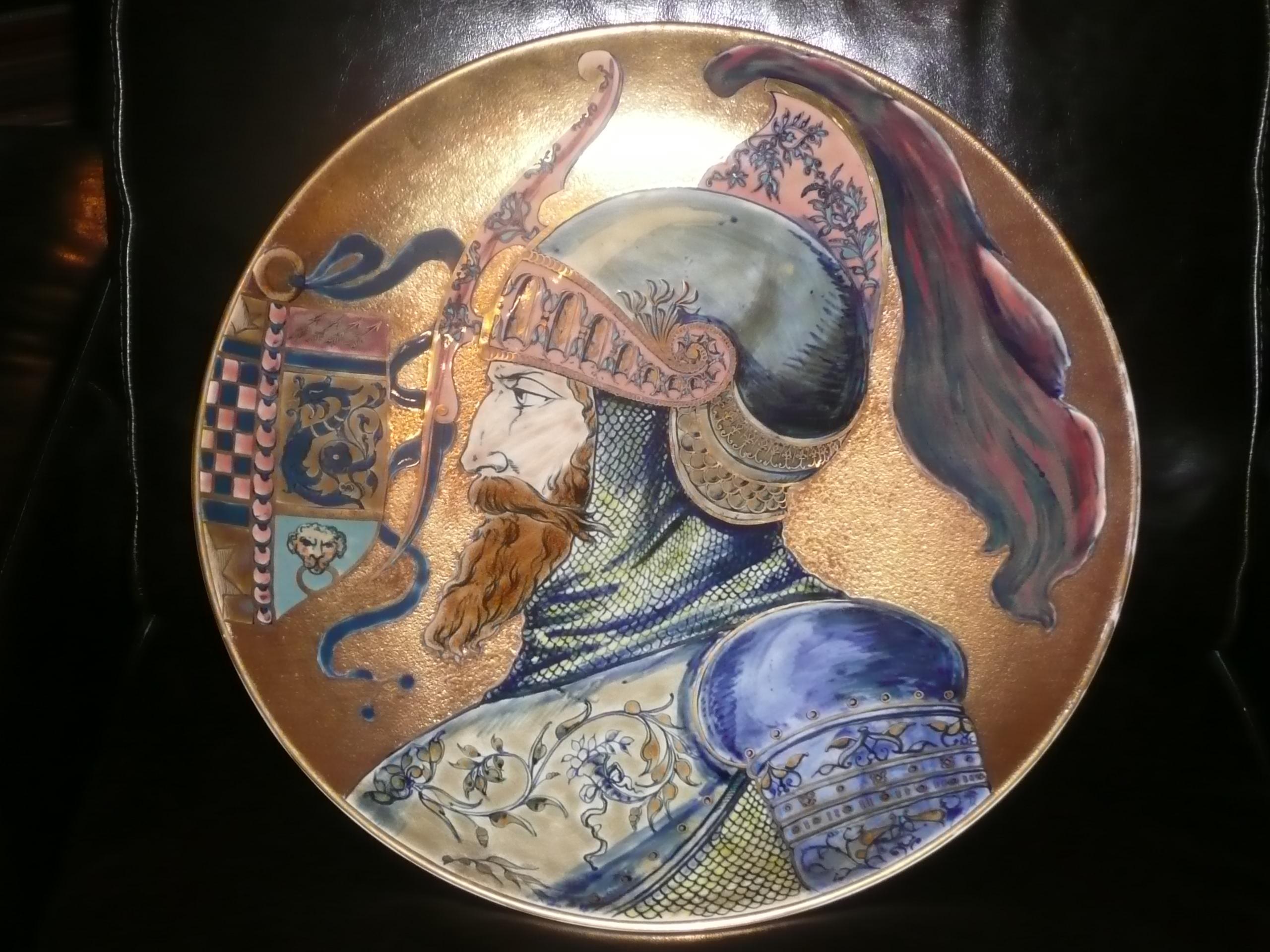 Historizáló Zsolnay kerámiák 1870-1900.